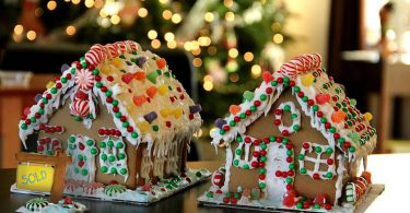 gingerbread house christmas poems
