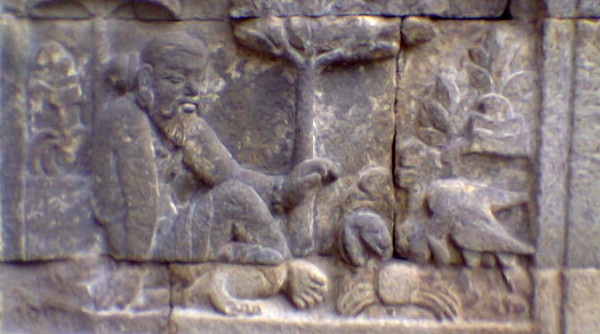 The stone seal of panchatantra stories