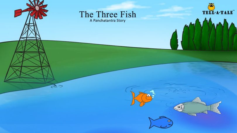 Panchatantra Tale of The Three Fish - Moral Story for Kids