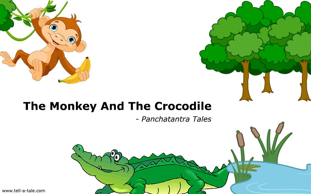 monkey and the crocodile panchatantra