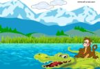 Monkey And Crocodile panchatantra