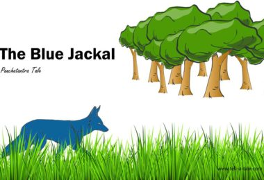 The Blue Jackal panchatantra story from india