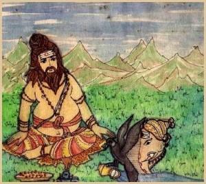 Ganesha Sage Agastya and Kaveri