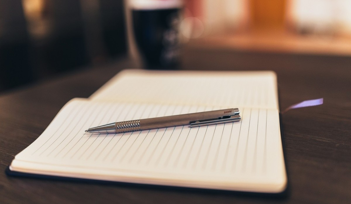 pen paper and notepad