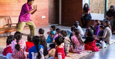 vikram sridhar storyteller bangalore india