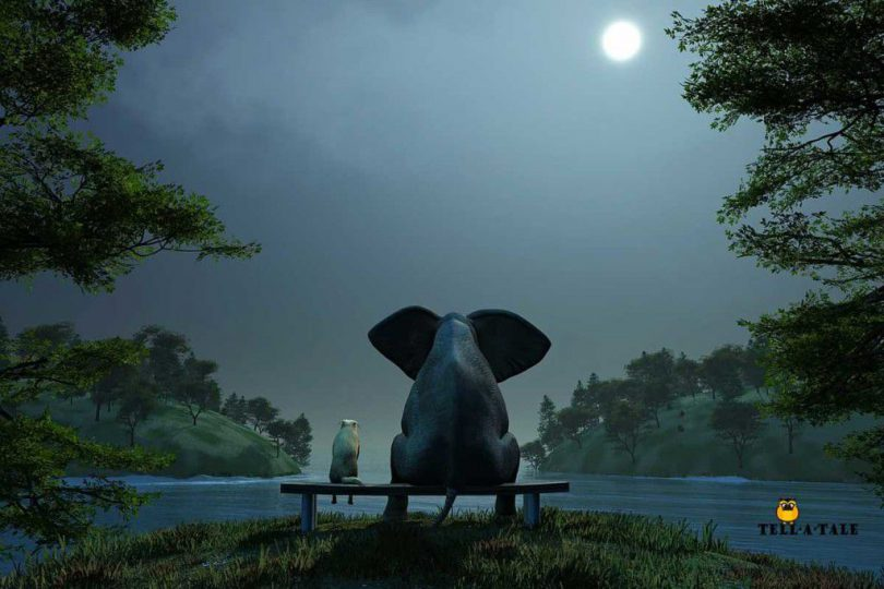 The Elephant And The Dog | Panchatantra Story | Stories from