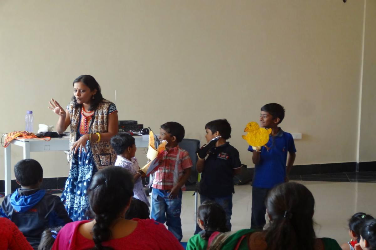 Sowmya Srinivasan Storytelling sessions