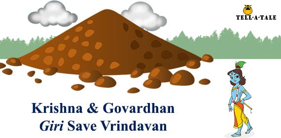 krishna and govardhan parvat story
