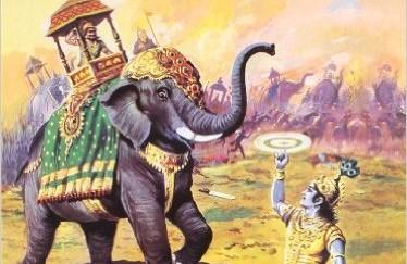 krishna and narakasura diwalikrishna and narakasura diwali