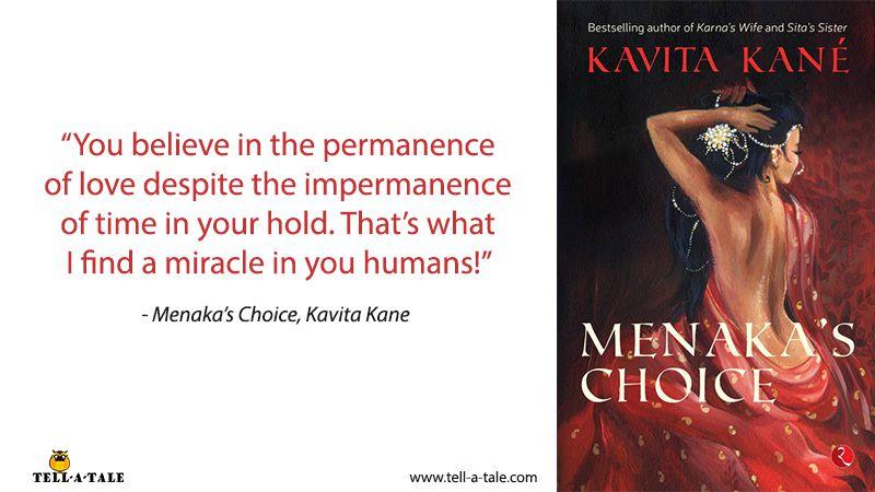 menaka's choice kavita kane