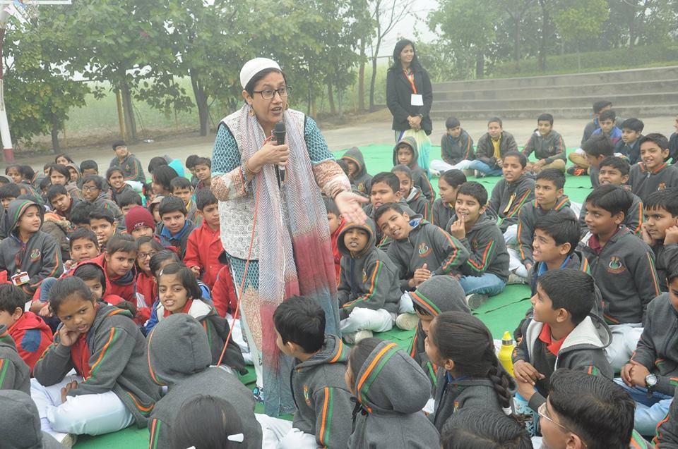 storytellers in delhi usha chabbra