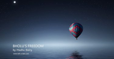 bholu's freedom short story for kids