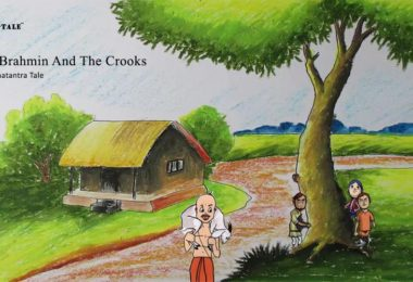 brahmin and crooks panchatantra story