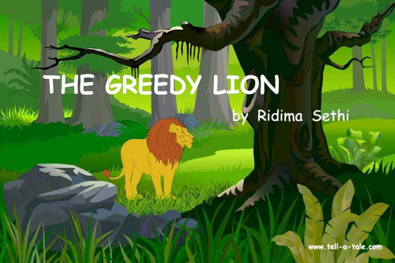 greedy lion moral story bedtime