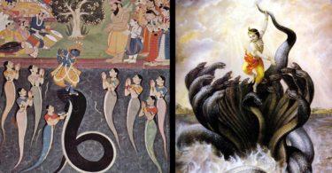 krishna stories and kaliya serpent vrindavan story