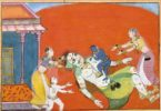 putana being killed by krishna