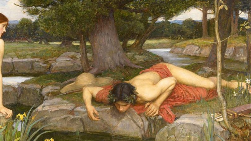 echo and narcissus roman folktale
