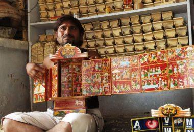 Kaavad craftsmen storytelling in rajasthan