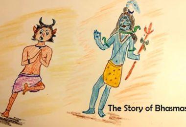 bhasmasura and shiva