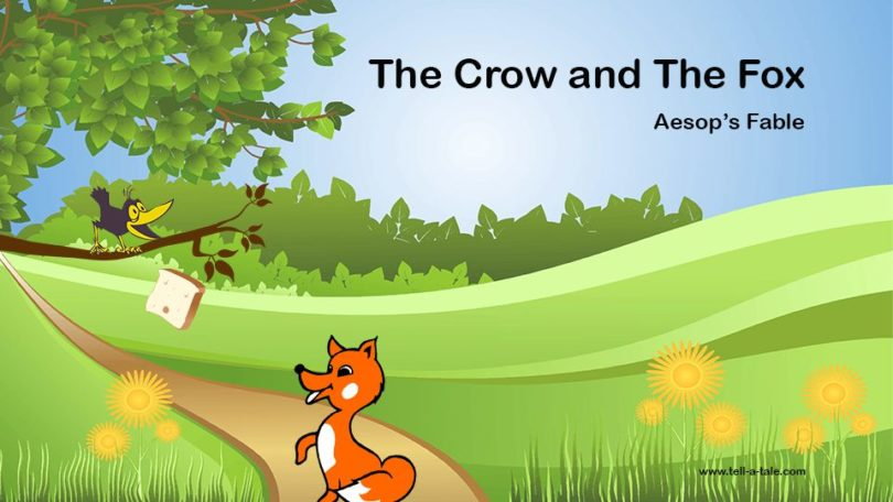 the crow and the fox aesop's bedtime stories fable