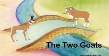 the two goats moral stories