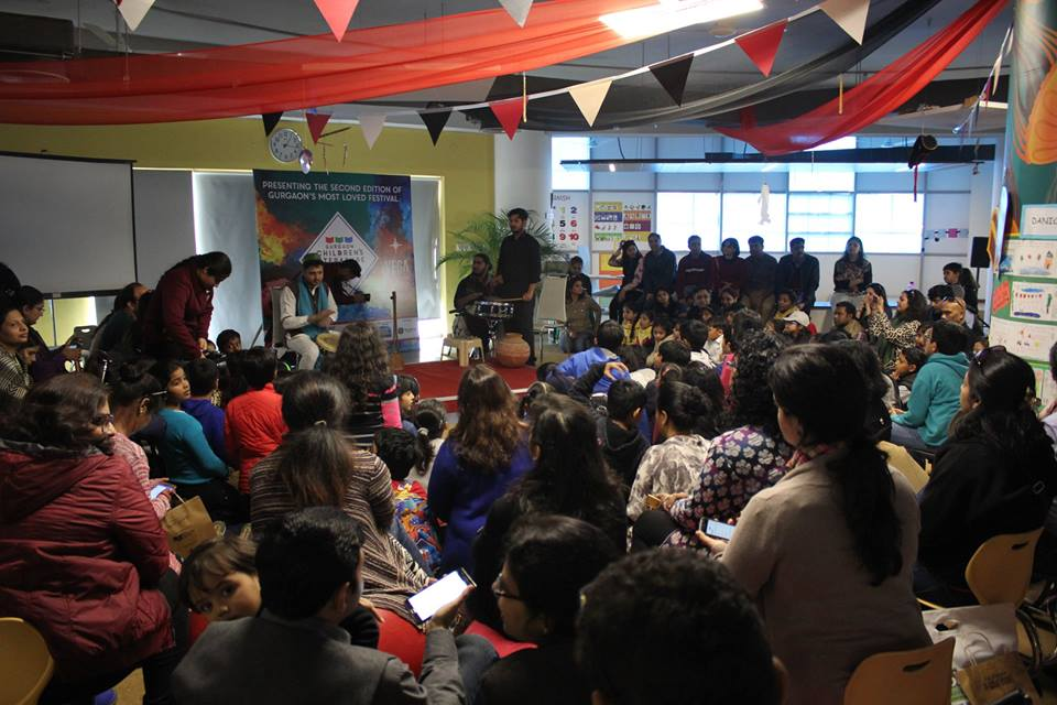 Gurgaon Children's Literature Festival 2018 Vega Schools