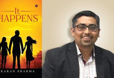 karan sharma it happens author