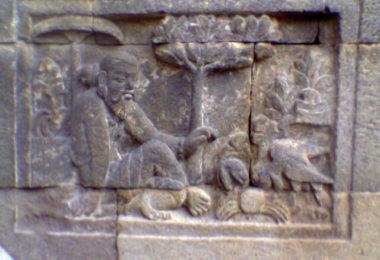 panchatantra indonesia sculpture
