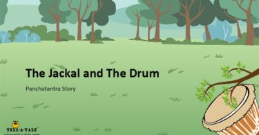 The jackal and the drum panchatantra story